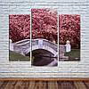 """Модульна картина """"Японія, Цвітіння сакури"""""""
