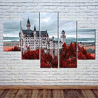 "Модульная картина ""Замок"", фото 1"