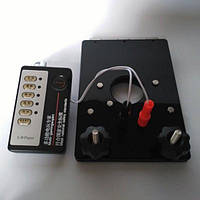 Электро-пресс для мошонки с отверстием для члена