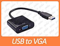 Переходник USB 3.0 to VGA (внешняя видеокарта)