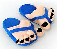 """Тапочки-игрушки для всей семьи """"Супер ножки"""". Любой цвет и размер. Тапочки в ассортименте."""