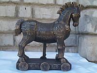 Статуэтка Veronese Троянский Конь 26 См