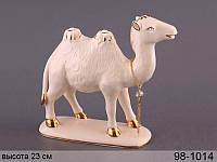 Статуэтка Верблюд высота 23 см фарфор