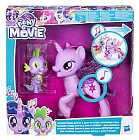 Игровой набор Твайлайт Спаркл, которая поет, и Спайк, Сияние, My Little Pony