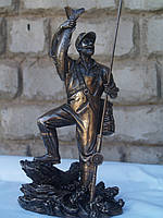 Статуэтка Veronese Рыбак с уловом 29 см