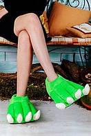 """Тапочки-игрушки для всей семьи """"Лапы дракона"""". Любой цвет и размер. Тапочки в ассортименте."""