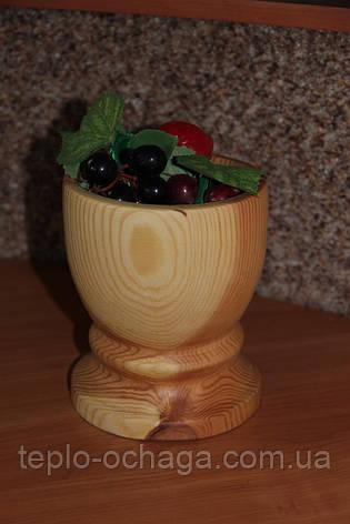 Ваза декоративная из дерева XXL, фото 2