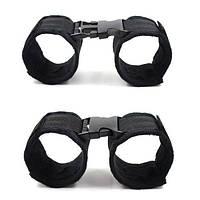 Черные наручники 2 пары