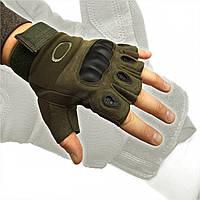 Рукавиці тактичні захистом олива OAKLEY, розмір M, L, XL