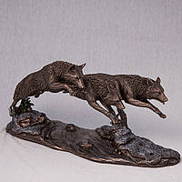 Статуэтка Veronese Волки 18Х37 См