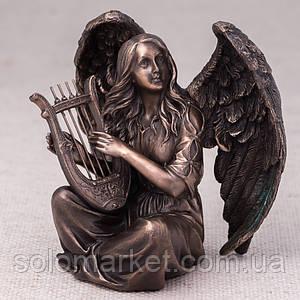 Статуэтка Veronese Ангел С Арфой 18 См