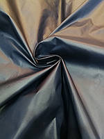 Плащевка лаке темно-синий (чернильный)