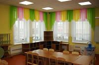 """Комплект штор """"Радуга"""" для детских садов, школ, детских лагерей, санаториев"""