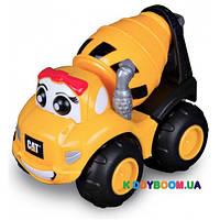 Инерционная бетономешалка Toy State Мегги CAT для малышей 80450