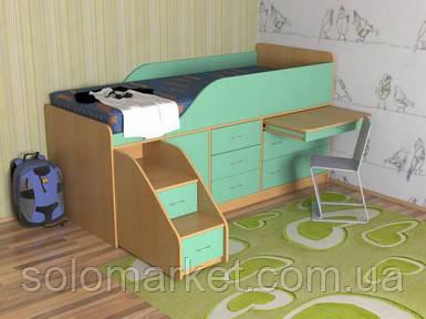 Детская кровать ДМ-107