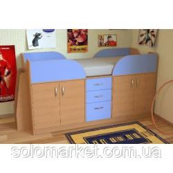 Детская кровать-чердак ДМ-41