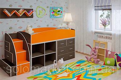 Детская кровать ДМ-52
