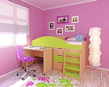 Детская кровать ДМ-54