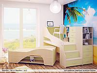 Детская кровать-подиум ДМ - 55