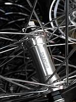 """Велосипедное колесо Mayarim, двойной обод, 24"""", 26"""", алюм. втулка, на промподш., V-brake, заднее, фото 1"""