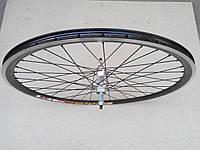 """Велосипедне колесо Mayarim, 24"""", 26"""", алюм. втулка, на промподш., під гальмівний диск, переднє, фото 1"""
