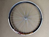 Велосипедное колесо Mayarim, двойной обод, 28 дюймов, стальная втулка, V-brake, переднее