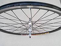 Велосипедне колесо Mayarim, подвійний обід, 28 дюймів, сталева втулка, V-brake, заднє, фото 1