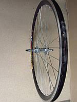 Велосипедное колесо Mayarim, двойной обод, 28 дюймов, алюминиевая втулка, V-brake, переднее