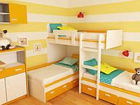 Кровать - чердак ДМ 167, фото 1