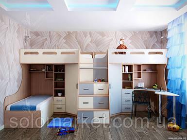 Кровать - чердак ДМ 161