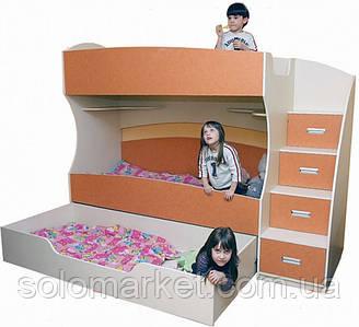 Кровать - чердак ДМ 162