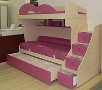 Кровать - чердак Бамбини, фото 1