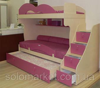 Кровать - чердак Бамбини