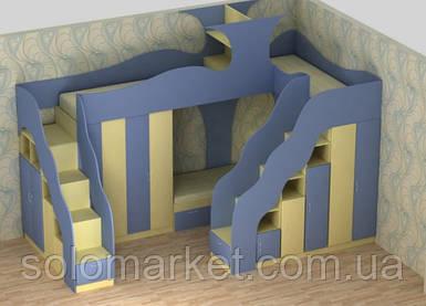 Кровать - чердак ДМ 163