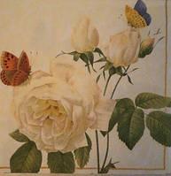 """Салфетка для декупажа  """"Розы"""" (33*33 см.)"""