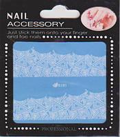 Водные наклейки для дизайна ногтей