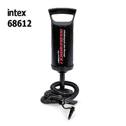 Насос ручной для матраса, для бассейна 36 см Интекс Intex 68612, фото 2