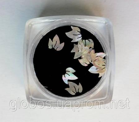 Перламутровые фигурки, ракушка, для аквариумного дизайна ногтей RENEE  IM 07-01, фото 2