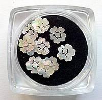 Перламутровые фигурки, ракушка, для аквариумного дизайна ногтей RENEE IM 08-01