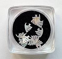 Перламутровые фигурки, ракушка, для аквариумного дизайна ногтей RENEE  IM 09-01