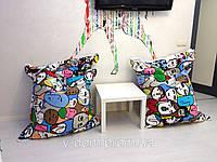 Кресло мешок Подушка из ткани