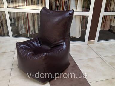 Офисное кресло из искусственной кожы