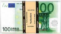 Пачка 100 ЕВРО подарочная