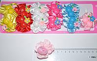 Детские резинки для волос - вишни (12 шт)