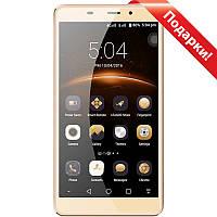 "Смартфон 5.7"" LEAGOO M8 Pro, 2GB+16GB Золотистый 4 ядра MediaTek MT6737 камера 13+8 Мп Android 6"