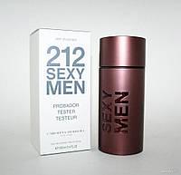 Carolina Herrera 212 Sexy 100ml men Тестер. Туалетная вода Оригинал