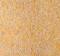 Жидкие обои- декоративная штукатурка Юг b-944 рыжий- золотой