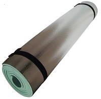 Каремат фольгированный 180х50х0,8 см.
