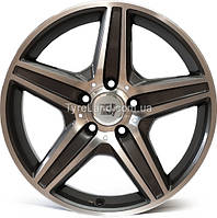 Литые диски WSP Italy W758 AMG Capri 8.5x18/5x112 D66.6 ET30 (Anthracite Polished)