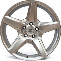 Литые диски WSP Italy W731 AMG III Budapest 6.5x15/5x112 D66.6 ET40 (Hyper Silver)
